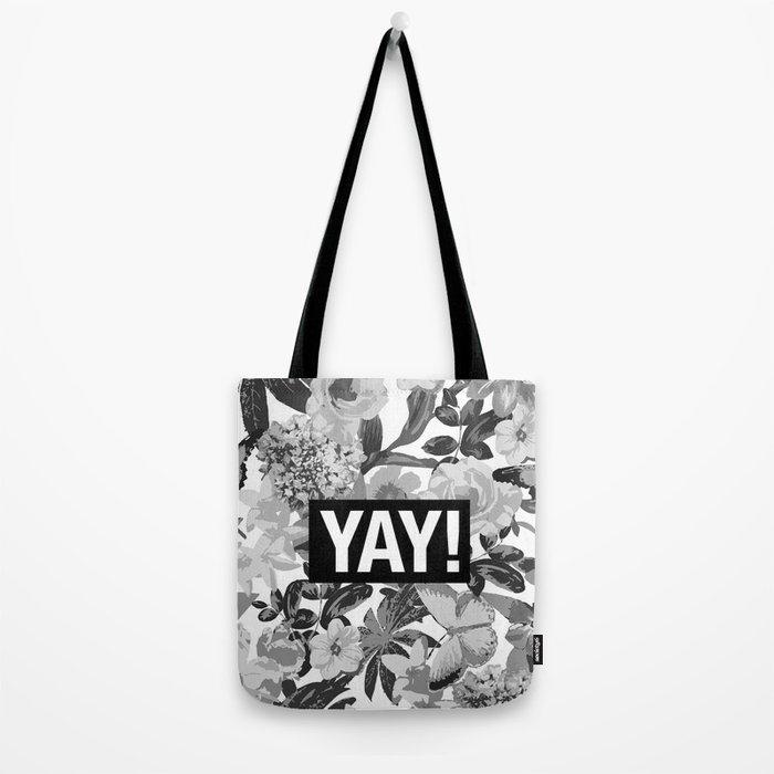 YAY Tote Bag