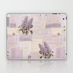 Vintage Flyers and Lilacs Laptop & iPad Skin