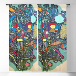 Wassily Kandinsky Colorful Ensemble Blackout Curtain