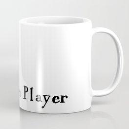 Stick figure playing the violin Coffee Mug
