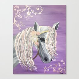 Pretty Horse Painting Canvas Print