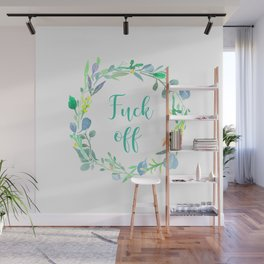 Fuck Off Wall Mural