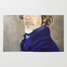 Self Portrait as Delacroix Rug