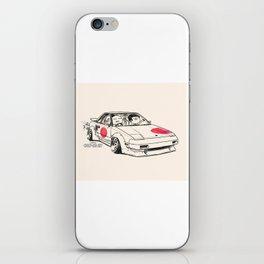 Crazy Car Art 0161 iPhone Skin