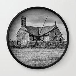 Creep church Wall Clock