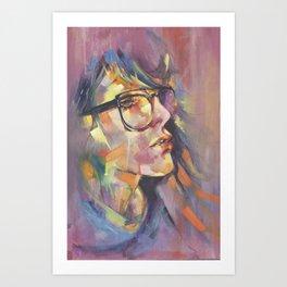 Her Art Print