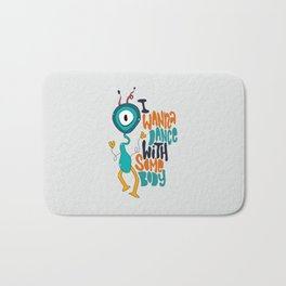 Dance With Somebody Bath Mat