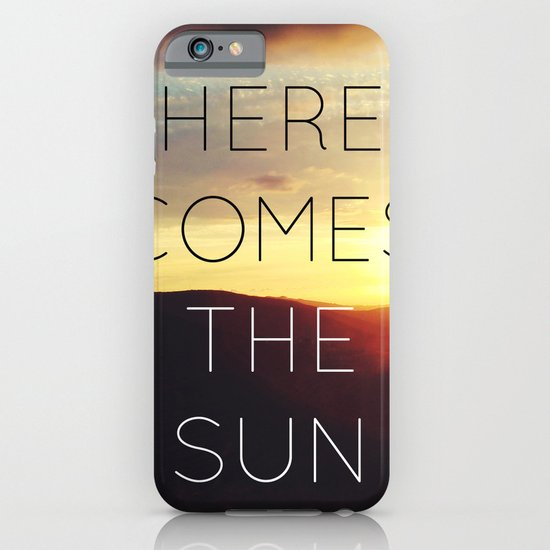 Here It Comes iPhone & iPod Case
