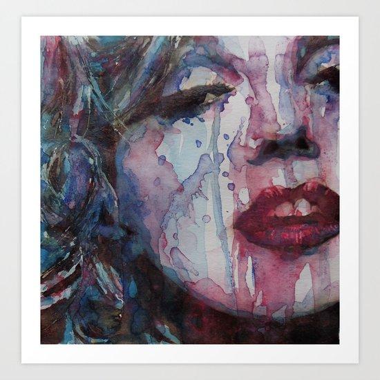 Beneath You Beautiful Art Print