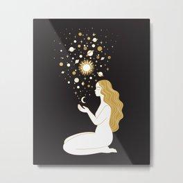 creating stars Metal Print