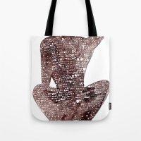 spiritual Tote Bags featuring Spiritual Awakening by Margarita Mascaro
