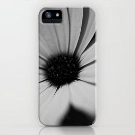 Black Daisy iPhone Case