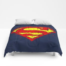 Super Man's Splash Comforters