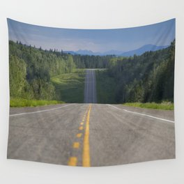 The Alaskan Highway Wall Tapestry