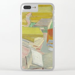 Vincent Van Gogh - Still Life - French Novels Clear iPhone Case
