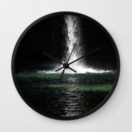 Iron Falls Wall Clock