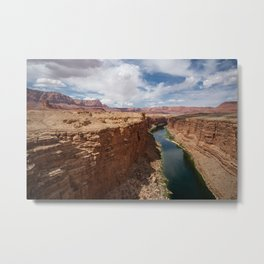 Colorado River from Navajo Bridge Metal Print