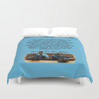 rap Duvet Covers featuring 101 Rap by Marianna