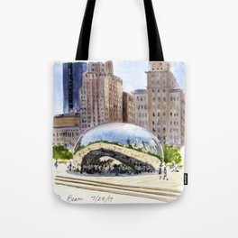 Cloud Gate - Chicago Tote Bag