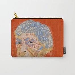 Ursula K. Le Guin portrait + quote Carry-All Pouch