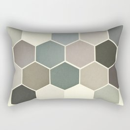Shades of Grey Rectangular Pillow