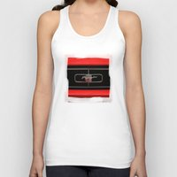 mustang Tank Tops featuring Mustang by Barbo's Art