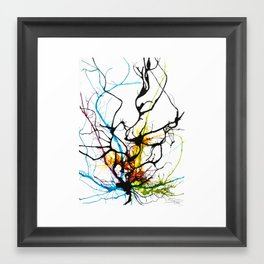 Charmed Tree Framed Art Print