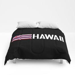 Hawaii: Hawaiin Flag & Hawaii Comforters