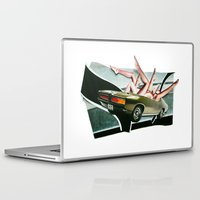 muscle Laptop & iPad Skins featuring Muscle Magnet | Collage by Lucid House