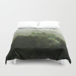 Drift - Green Mountain Forest Duvet Cover