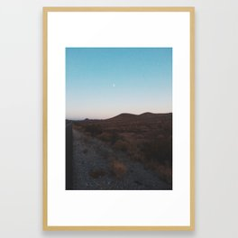 A Journey Across The States Framed Art Print
