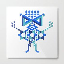 Dimension4 3 Metal Print