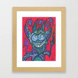 Tessel Framed Art Print