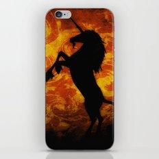 Dark Unicorn II iPhone & iPod Skin