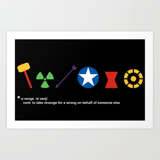 Assemble! Art Print