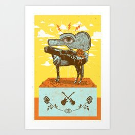 MUSIC OF THE SURREAL Art Print