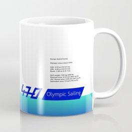 470 Olympic Sailing Coffee Mug