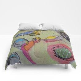 Pistachio Parfait Comforters