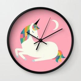 Unicorn Happiness Wall Clock