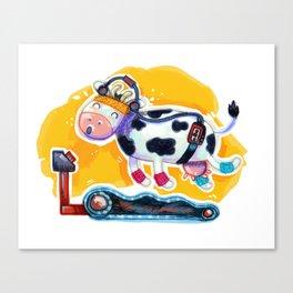 Fat Free Milk Canvas Print