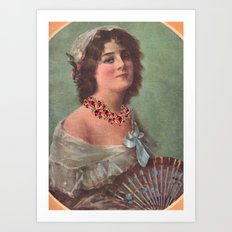 Josephine's Diamonds Art Print