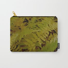 Vermont Ferns in Autumn Foliage Carry-All Pouch