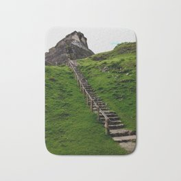 Stairs to El Castillo Bath Mat