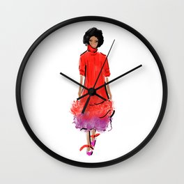 Quick Sketch: Prabal Gurung 03 Wall Clock