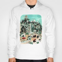 canada Hoodies featuring Wild Canada by Mathilde George