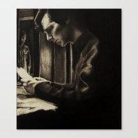 johnlock Canvas Prints featuring Kitchen by hislastbough