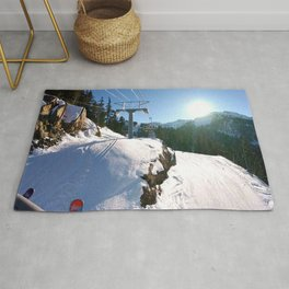 Mountains transport Rug
