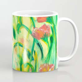 Sun drenched Poppies Coffee Mug