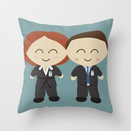 The X Kids Throw Pillow