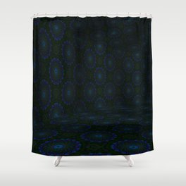 Iconic Hollows 19 Shower Curtain